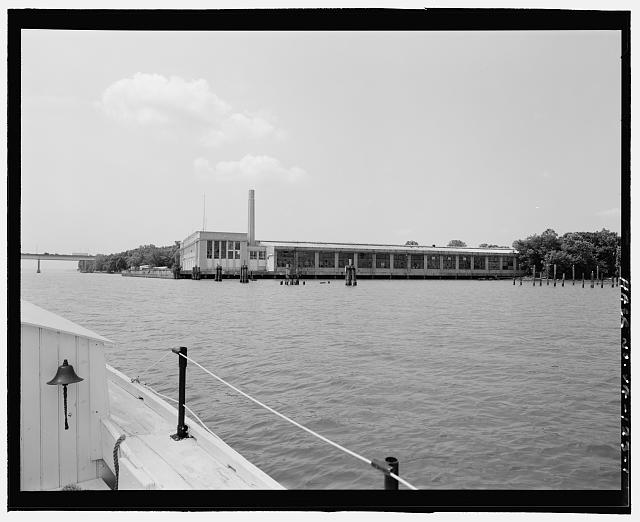 Ford Alexandria Plant  FROM DORY, LOOKING SOUTHWEST AT NORTH SIDE AND EAST FRONT