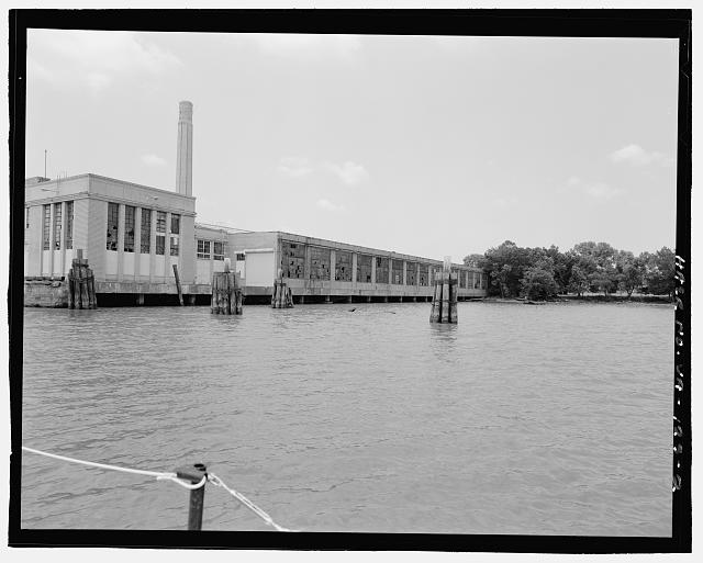 Ford Alexandria Plant FROM DORY, CLOSER VIEW, LOOKING SOUTHWEST AT NORTH SIDE AND PART OF EAST FRONT