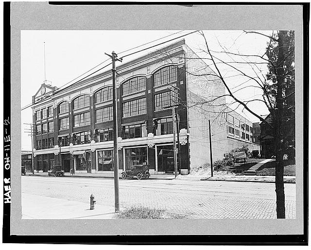Ford Cleveland Assembly Plant Photocopy of early 20th century photo, showing the Euclid Avenue facade of the branch assembly building.