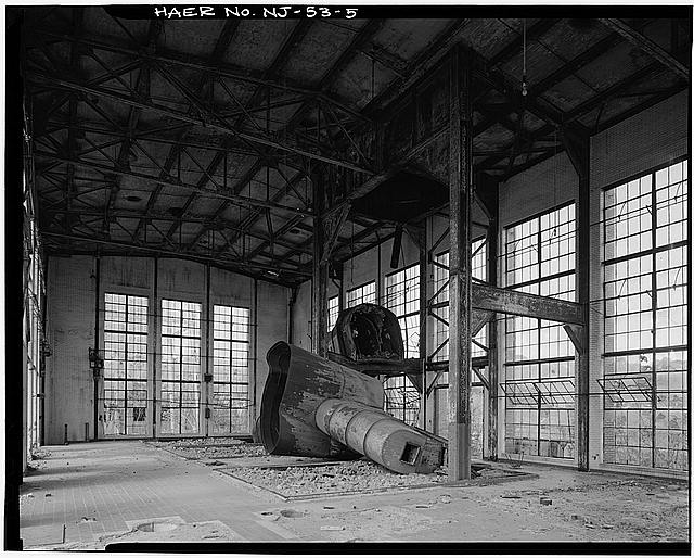 Ford Edgewater Assembly Plant BOILER HOUSE, INTERIOR, LOOKING WEST