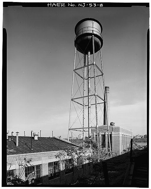 Ford Edgewater Assembly Plant WATER TOWER, VIEW NORTH