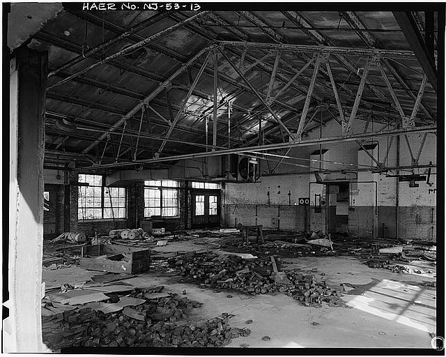Ford Edgewater Assembly Plant OIL HOUSE, INTERIOR, WESTERN ROOM, LOOKING NORTHEAST