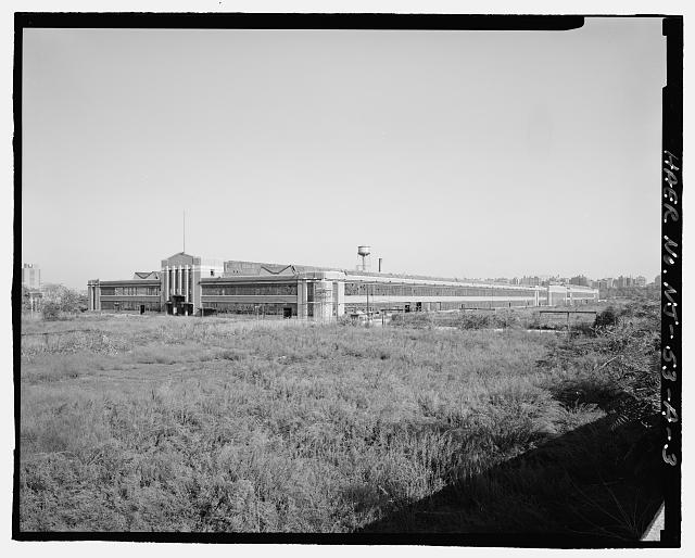 Ford Edgewater Assembly Plant VIEW TO SOUTHEAST