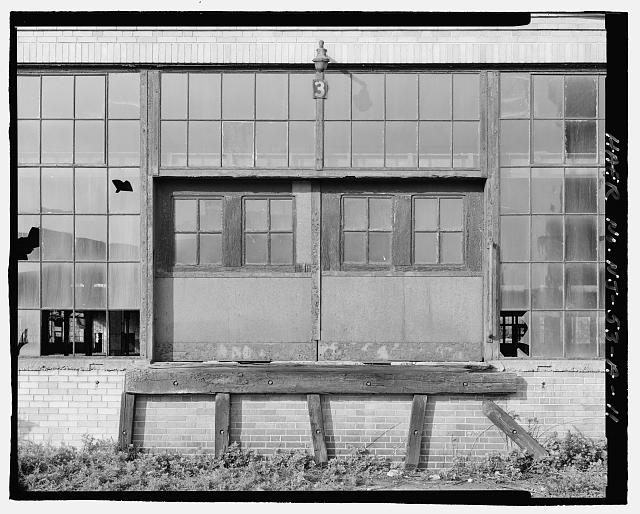 Ford Edgewater Assembly Plant DRIVE-UP DOOR, SOUTH FACADE, BAY 4