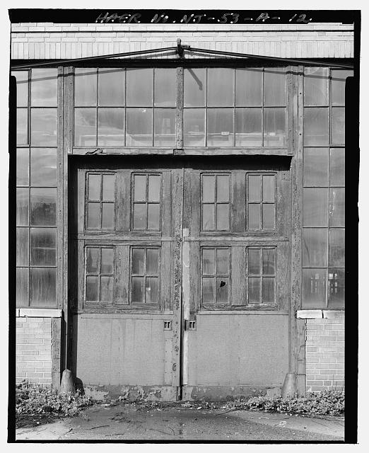 Ford Edgewater Assembly Plant Ford Edgewater Assembly Plant DRIVE-UP DOOR, SOUTH FACADE, BAY 4