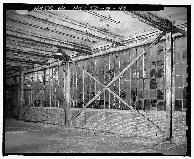 Ford Edgewater Assembly Plant FIRST FLOOR CROSS BRACING, BAY 37/6 NORTH, TO NORTH