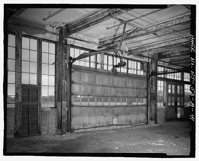 Ford Edgewater Assembly Plant REPLACEMENT GARAGE-TYPE DOOR, BAY 49/6 NORTH, TO NORTHWEST