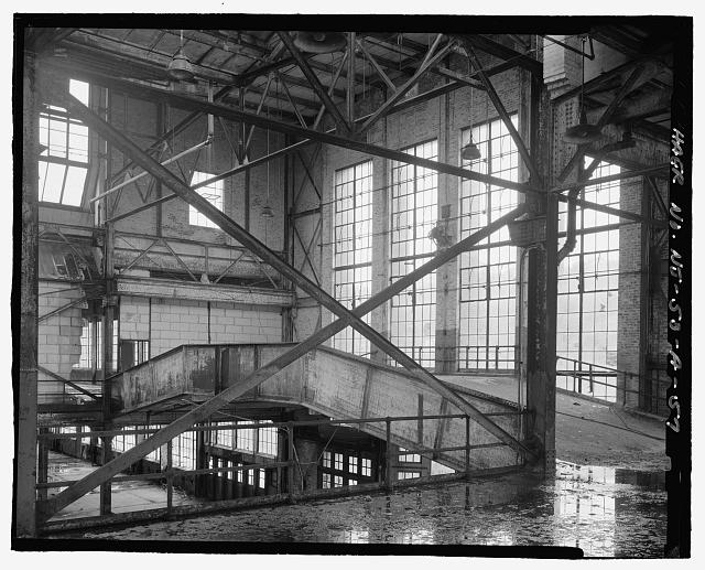 Ford Edgewater Assembly Plant SECOND FLOOR, WEST END AND BRIDGE, TO SOUTHWEST
