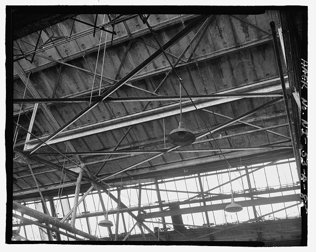 Ford Edgewater Assembly Plant NORTH MONITOR AND ROOF FRAMING DETAIL, BAY 18, TO NORTH