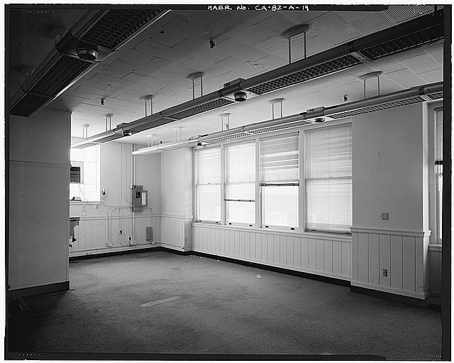 Ford Long Beach Assembly Plant CONFERENCE ROOM, SOUTHWEST CORNER OF SECOND FLOOR OFFICE AREA. VIEW TO SOUTHWEST