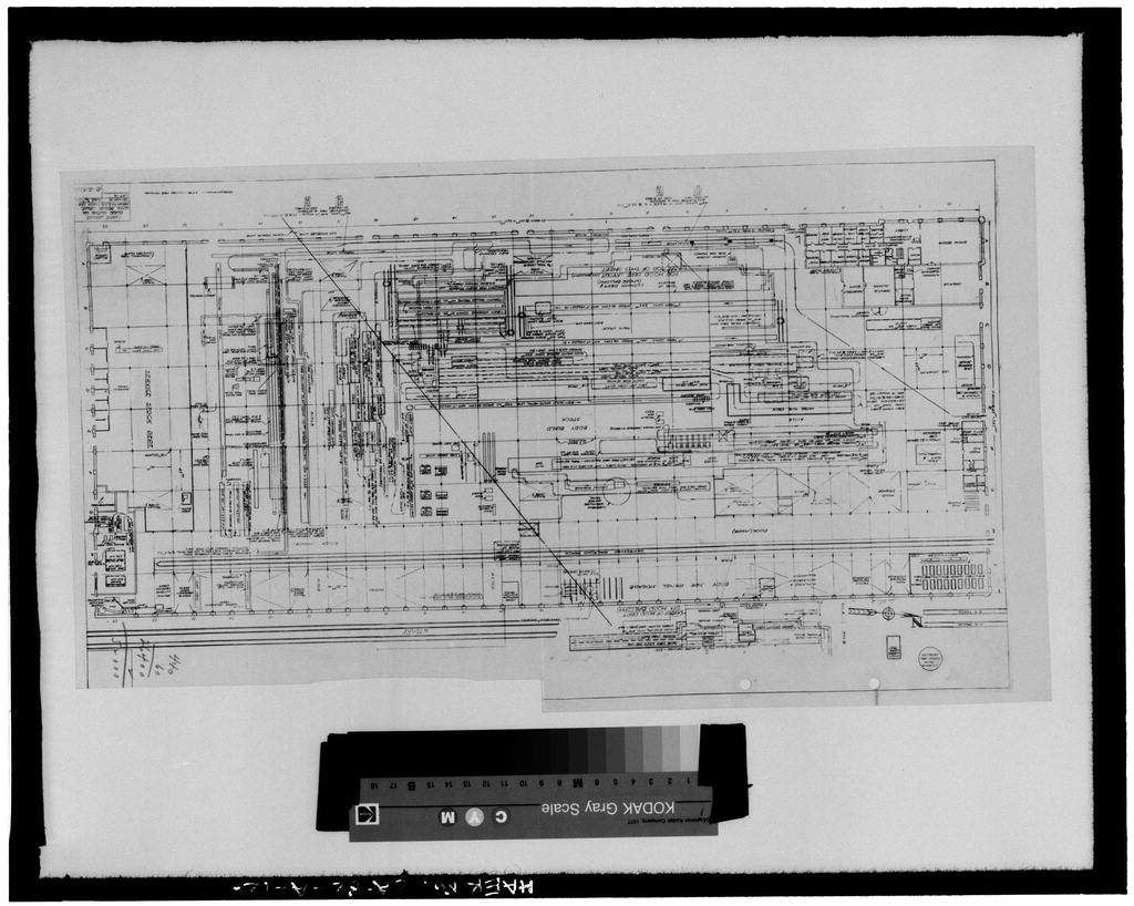 PLANT LAYOUT, FORD MOTOR COMPANY LONG BEACH ASSEMBLY PLANT, MARCH 1940