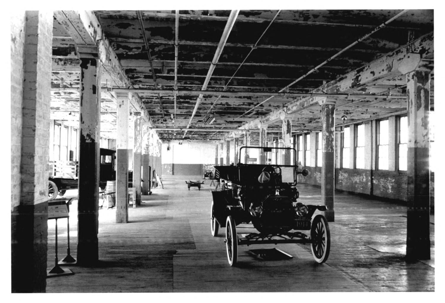 Ford Piquette Avenue Plant Interior Pictures