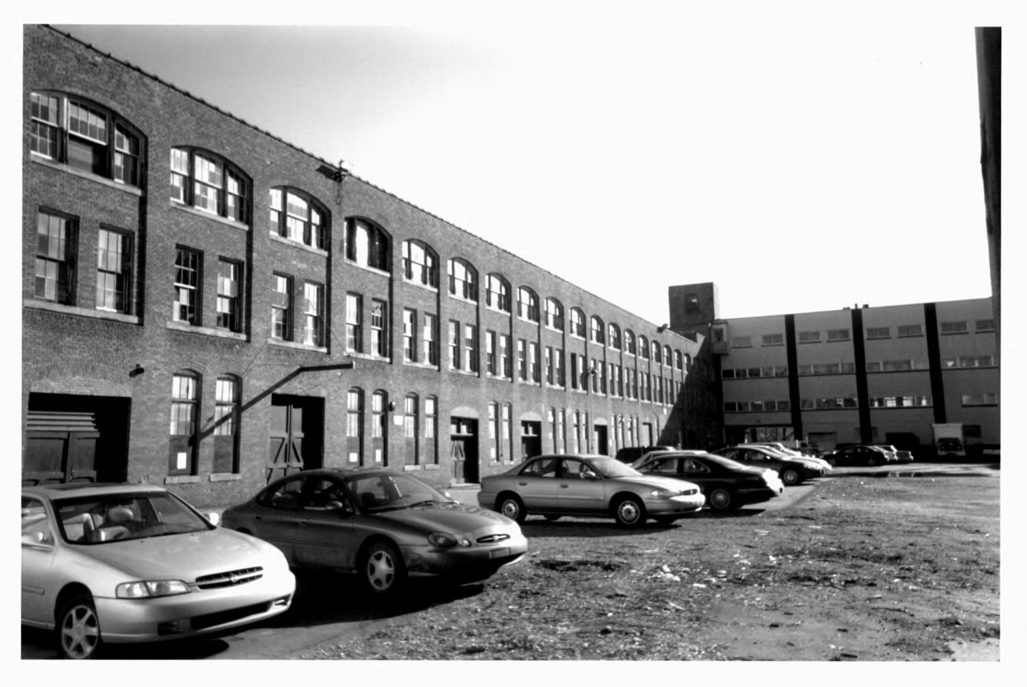 Ford Piquette Avenue Plant West Facade and open courtyard