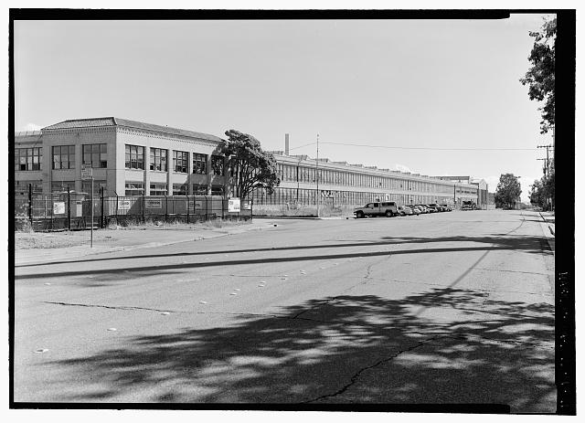 Ford Richmond Assembly Plant SE BY 135', STREET SCAPE.