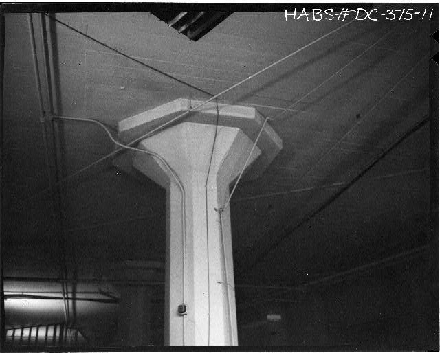 Ford Building Washington DC INTERIOR COLUMN WITH SHEAR PLATE DETAIL